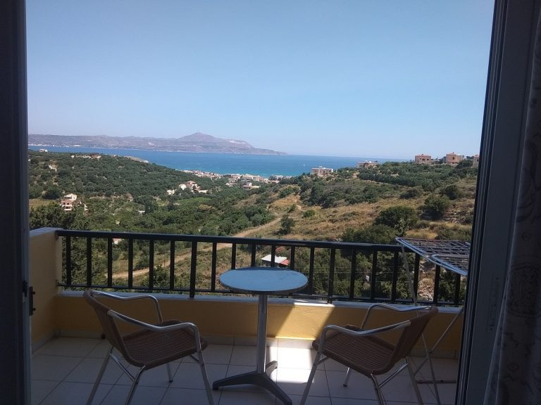 hotel for sale in chania balcony view