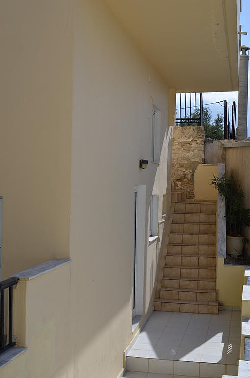 hotel for sale in chania rea external stairs