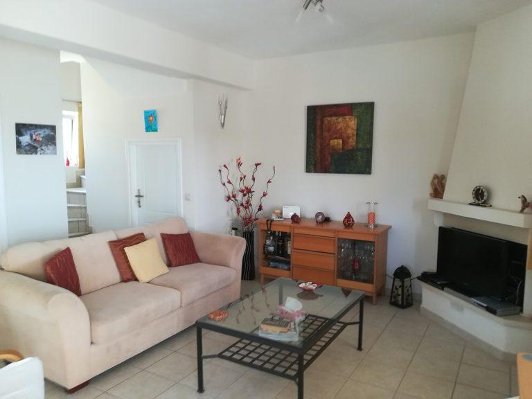 villa in chania crete for sale sitting area