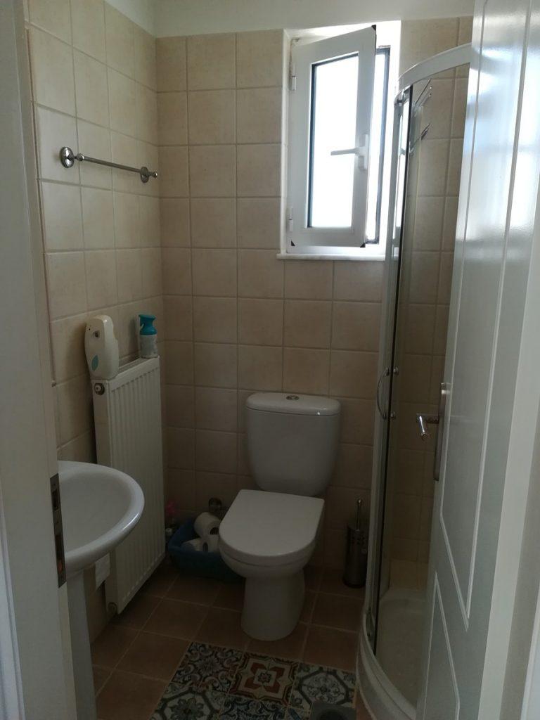 villa in chania crete for sale bathroom