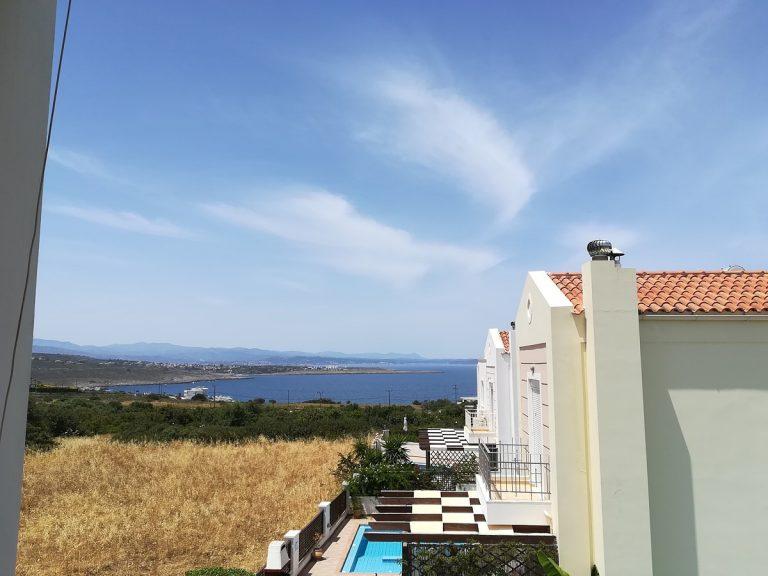 villa in chania crete for sale sea view