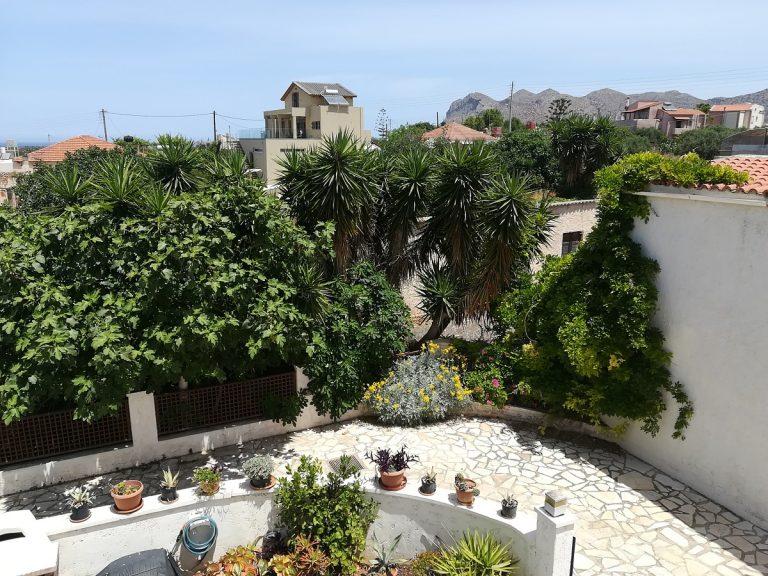 villa in chania crete for sale view