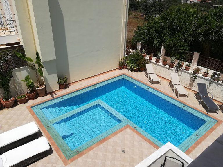 villa in chania crete for sale pool