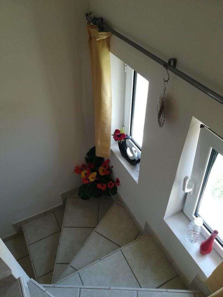 villa in chania crete for sale staircase