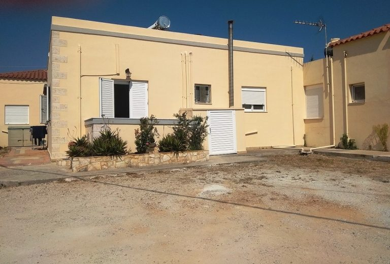 House in Chania Crete for sale back side