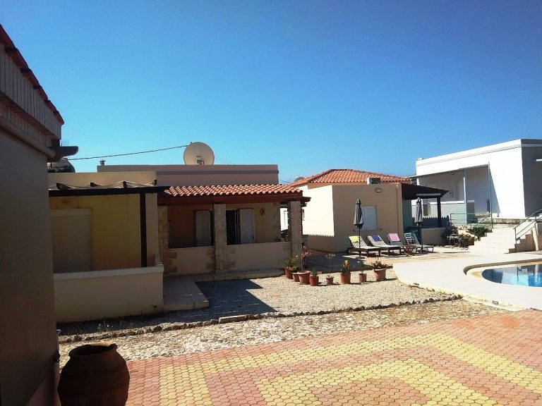House in Chania Crete for sale external