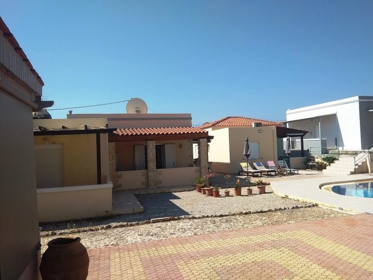 House in Chania Crete for sale external area