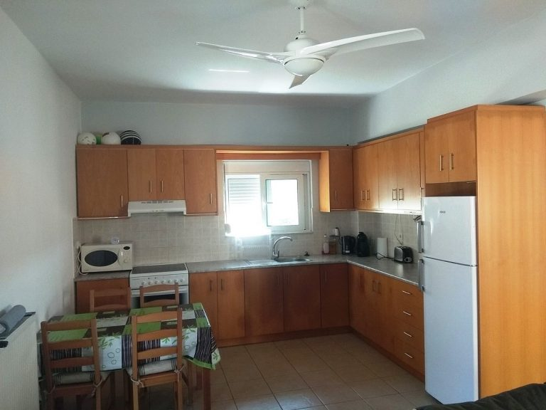 House in Chania Crete for sale fitted kitchen