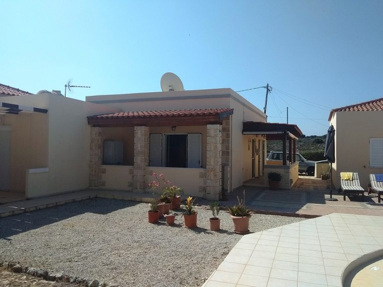 House in Chania Crete for sale outdoor area