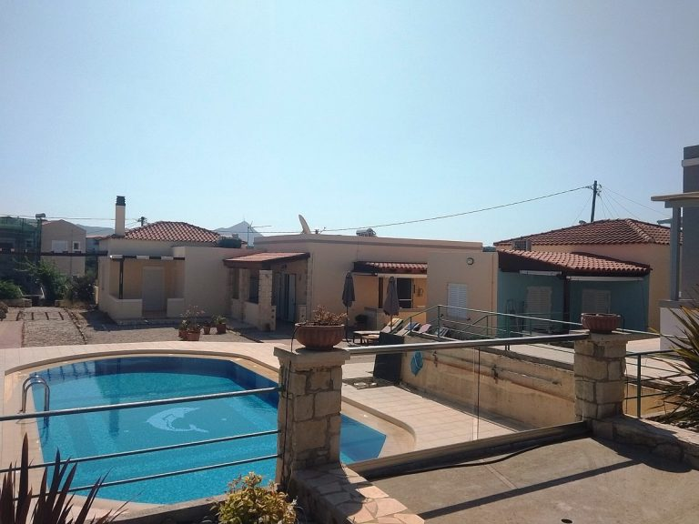 House in Chania Crete for sale swimming pool