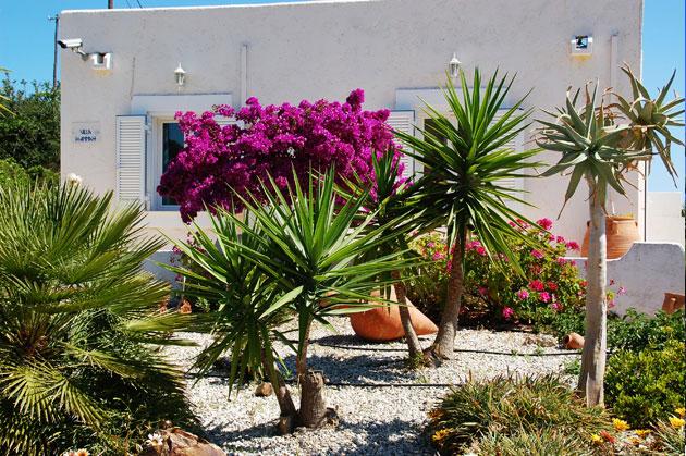 villas for sale in chania crete garden