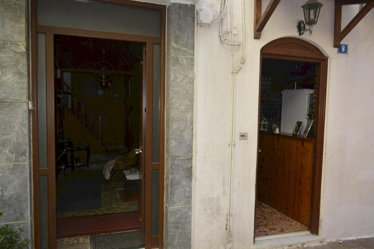 Houses for sale in the old town of Chania Crete main doors CH097