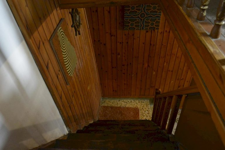 Houses for sale in the old town of Chania Crete wooden details CH097