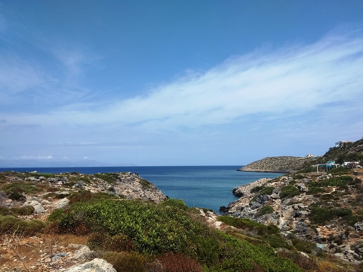 Seafront plot of land in Chania Crete for sale AL248