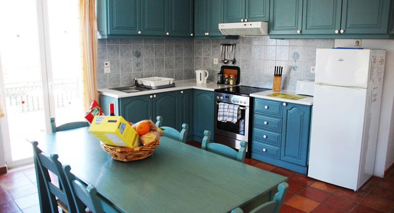 villa for sale in chania crete kitchen