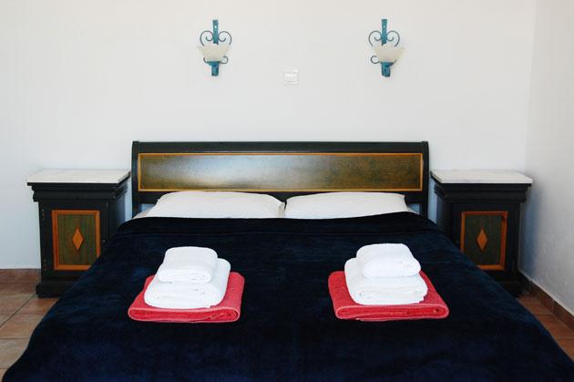 villa for sale in chania crete bedroom