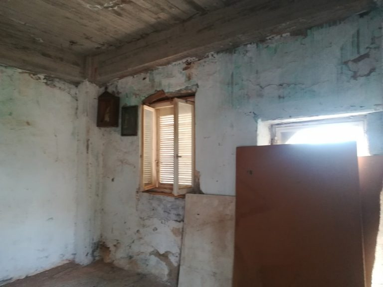 stone house for sale in chania internal view