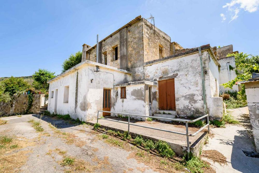 stone house for sale in kissamos chania