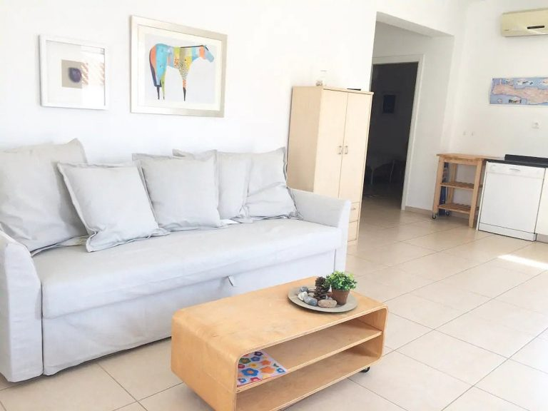 Bungalow for sale in Akrotiri Chania Crete living area ah103