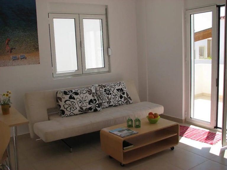 House for sale in Akrotiri Chania Crete sitting area ah101