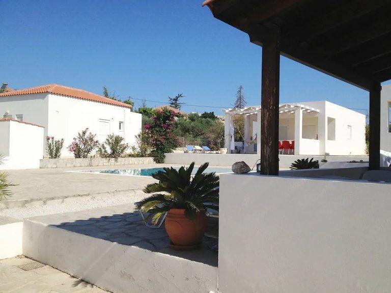 House for sale in Akrotiri Chania Crete views from veranda ah101