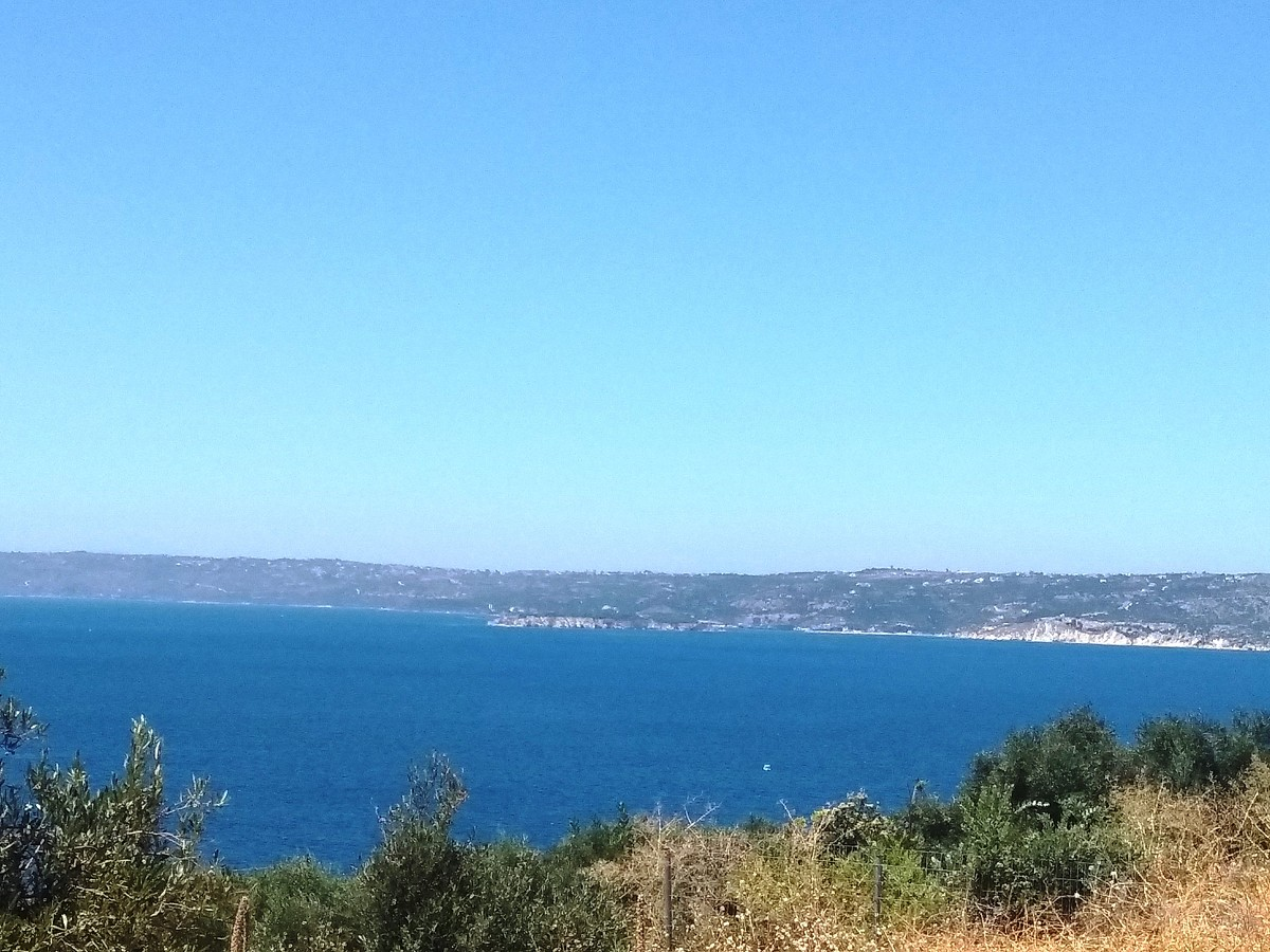 Land in Apokoronas Chania Crete for sale with sea views kl416