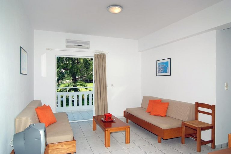 guesthouse for sale in apokoronas chania crete living area kh113