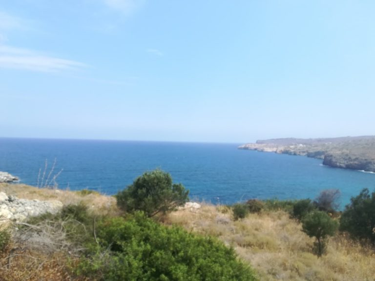 plot of land with sea view in chania panoramic views