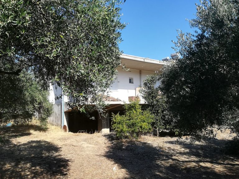 house for sale in chania crete garden