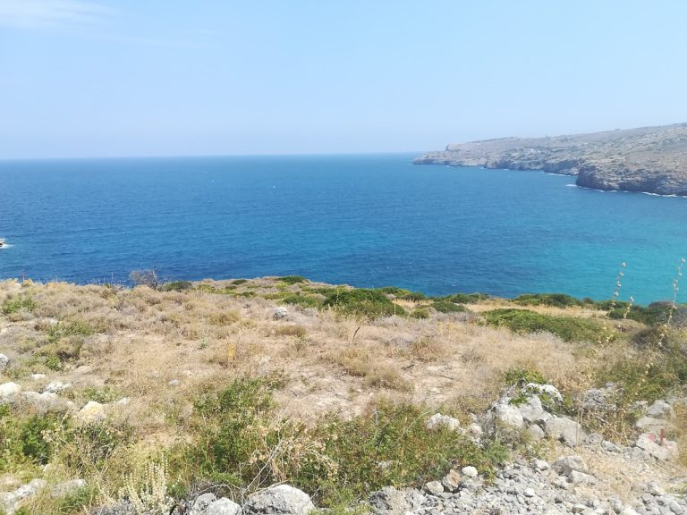 plot of land with sea view in chania crete