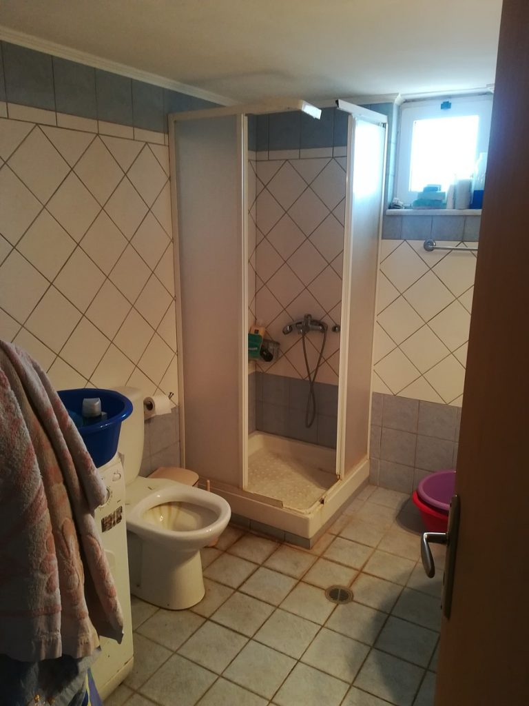 house for sale in chania crete bathroom