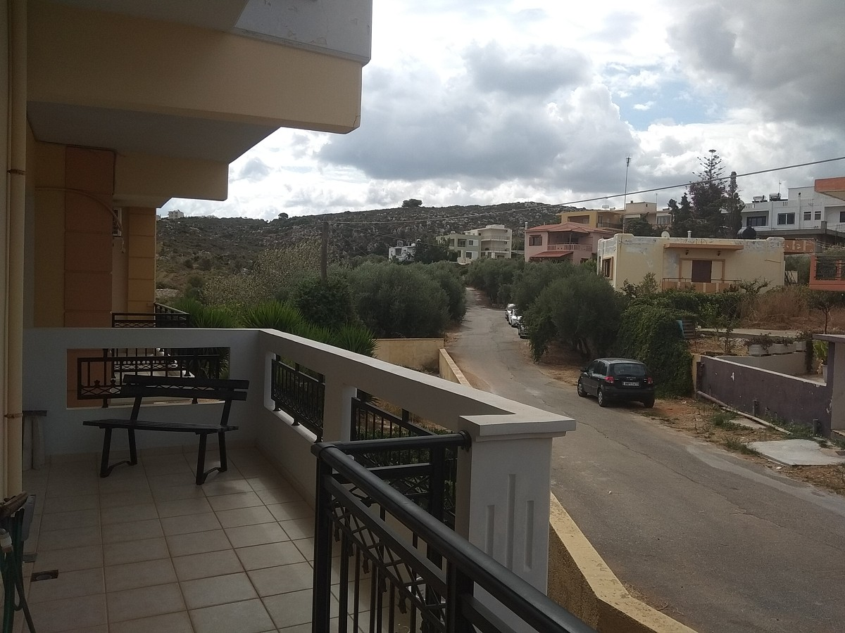apartment for sale in chania crete balcony ah104