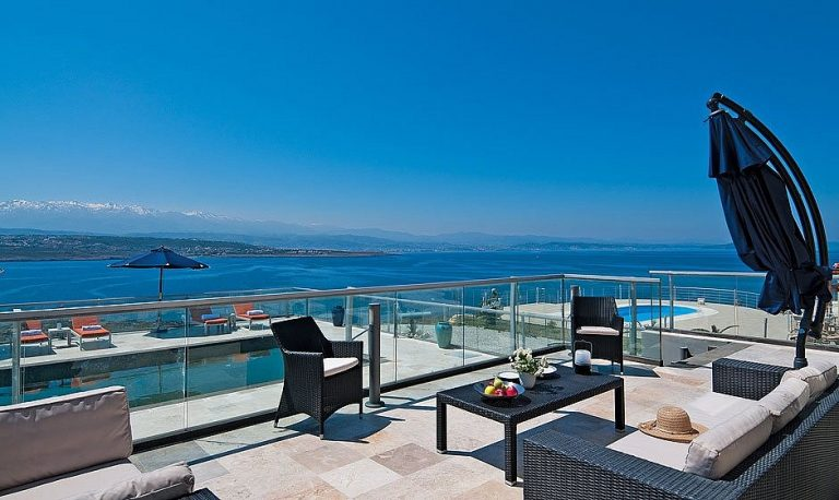 hotel for sale in crete akrotiri amazing sea view