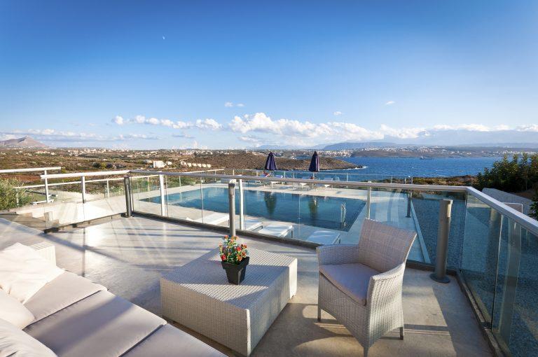 hotel for sale in crete akrotiri external area