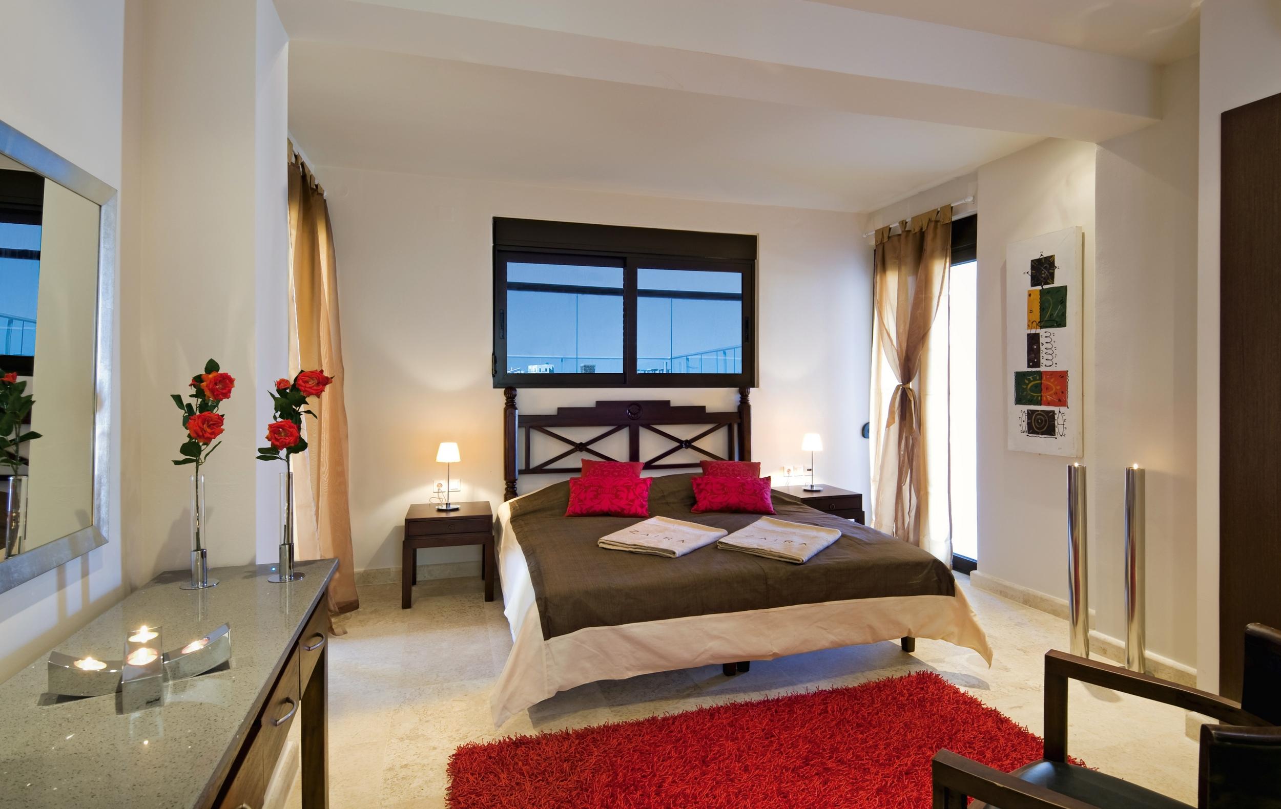 hotel for sale in crete akrotiri bedroom