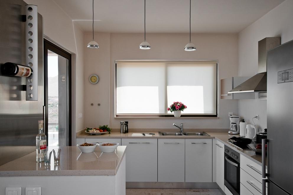 hotel for sale in crete akrotiri villa kitchen area