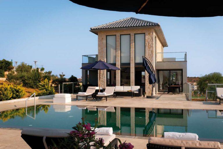 hotel for sale in crete akrotir villa