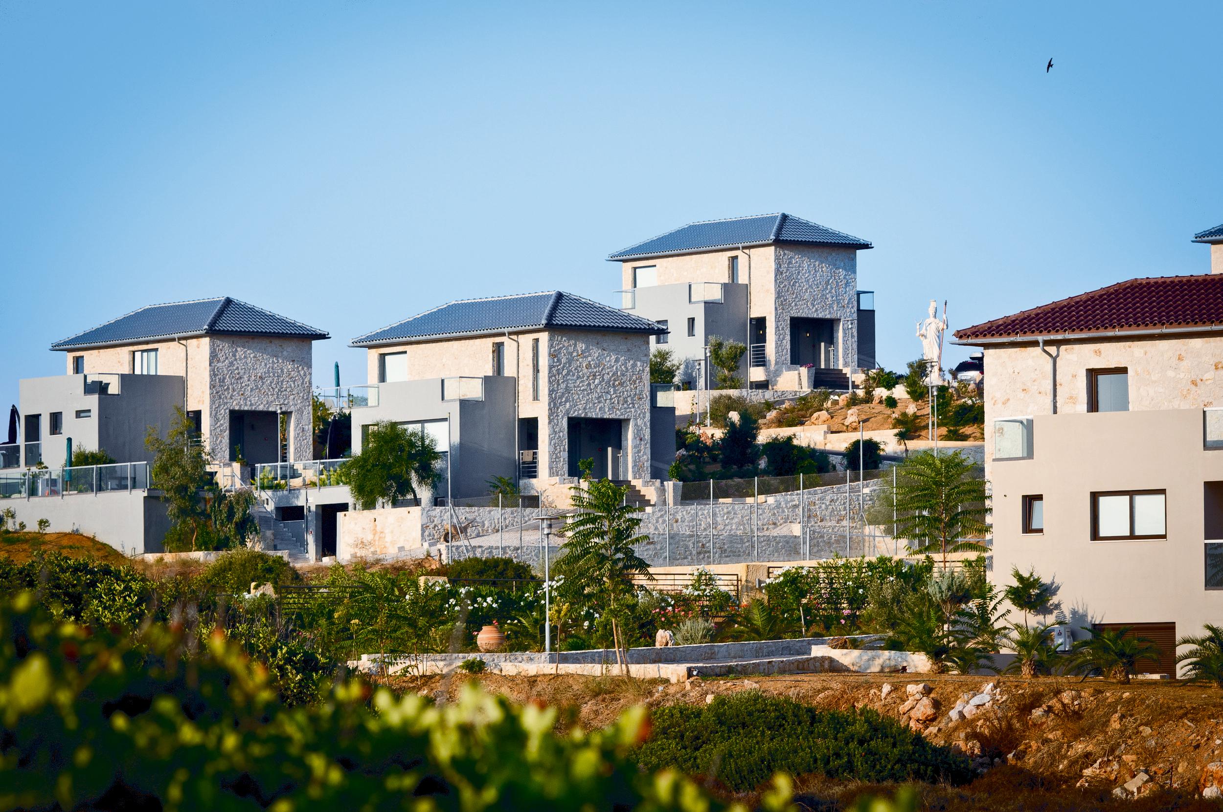 hotel for sale in crete akrotiri property view