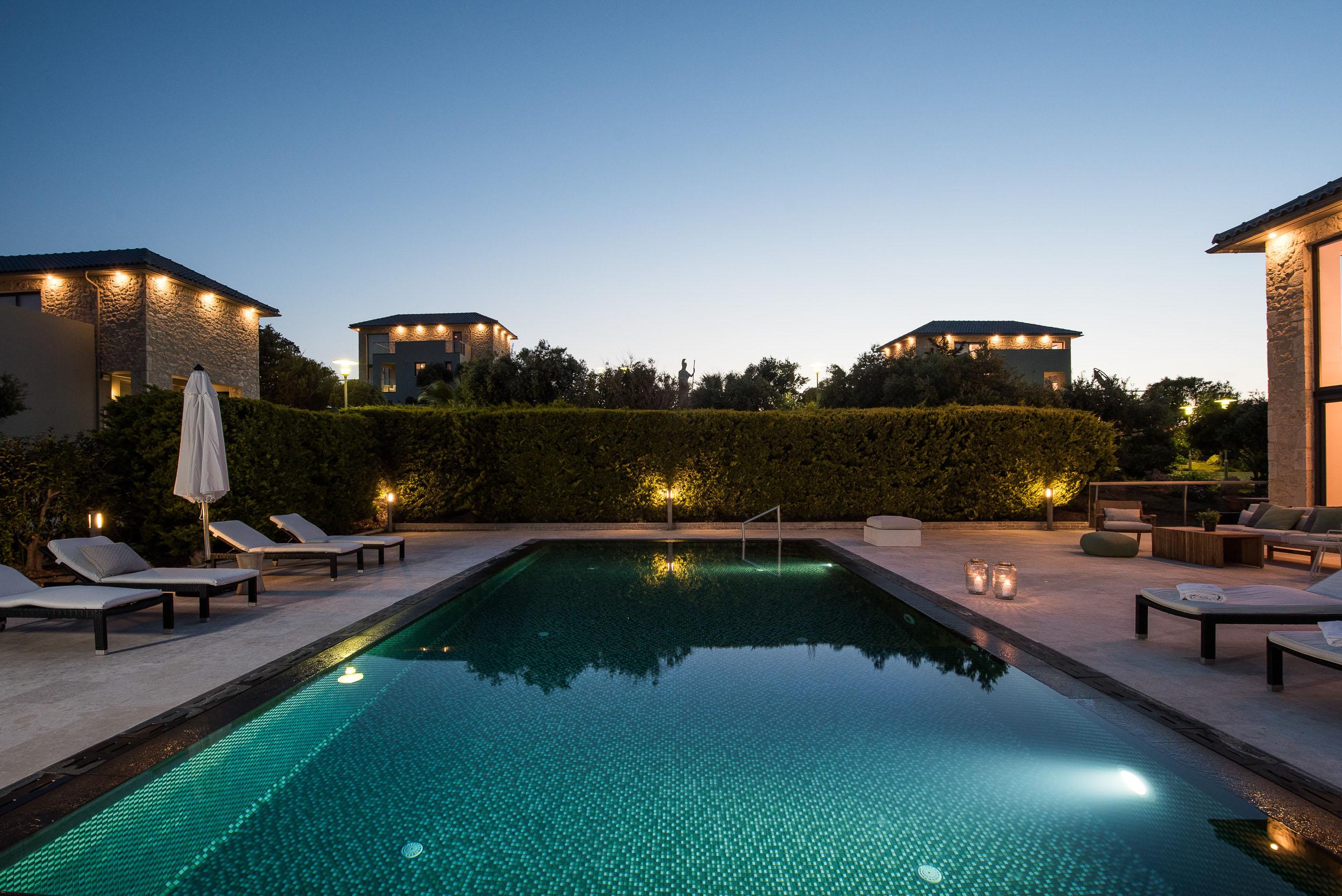 hotel for sale in crete akrotiri area pool