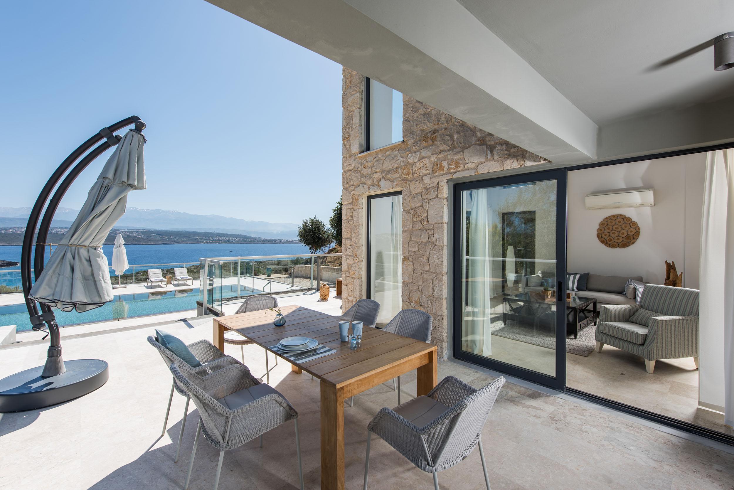 hotel for sale in crete outdoor area