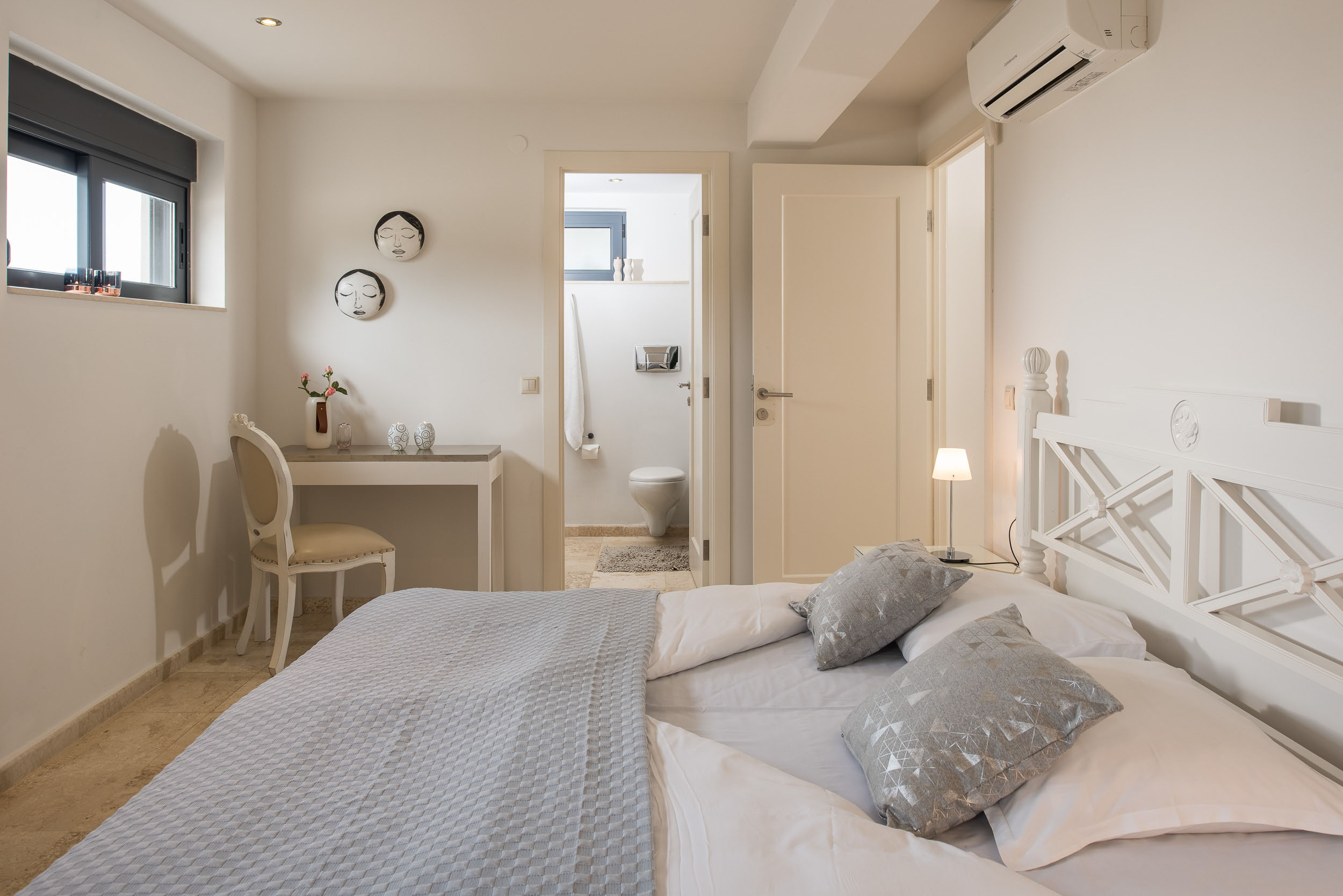 hotel for sale in crete akrotiri villa bedroom