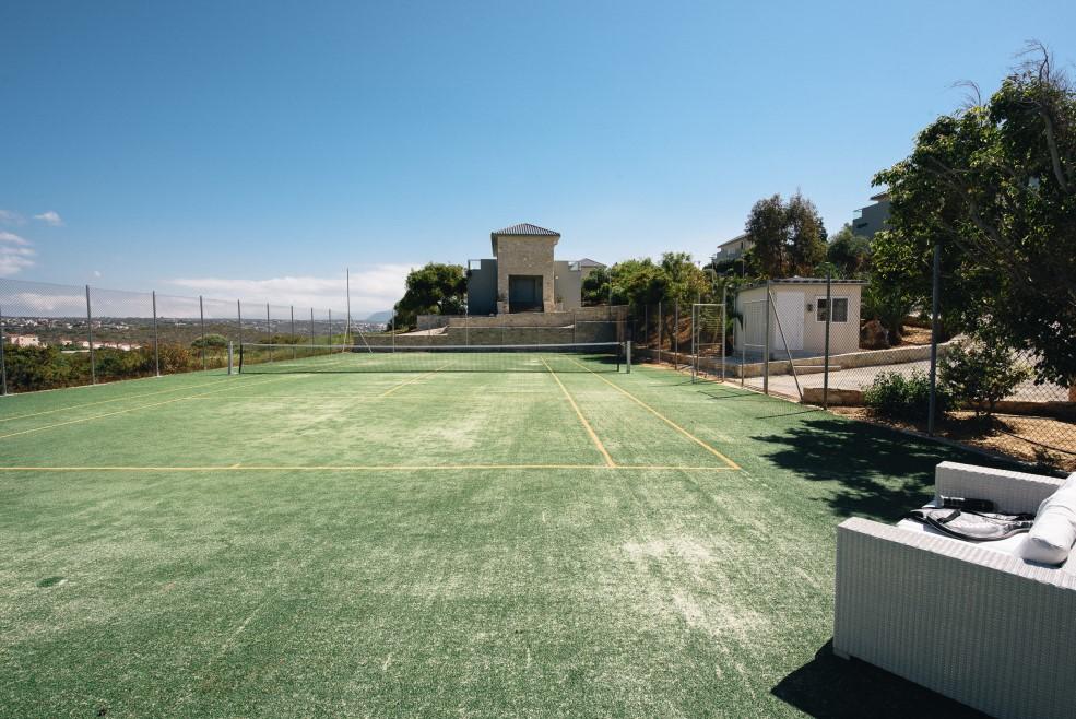 hotel for sale in crete tennis court