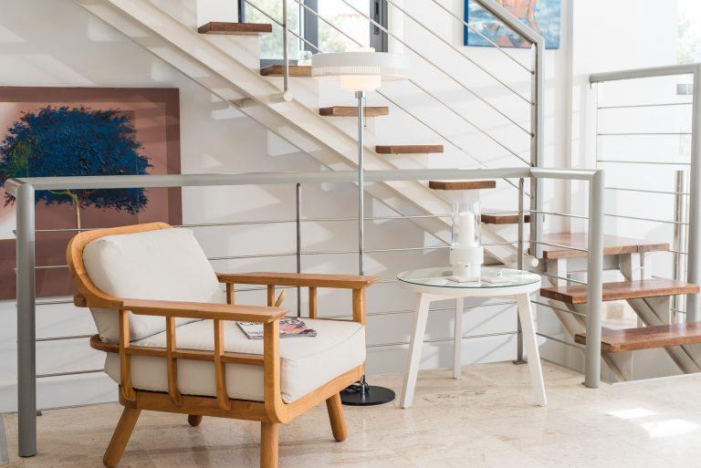 hotel for sale in crete akrotiri villa internal stairs