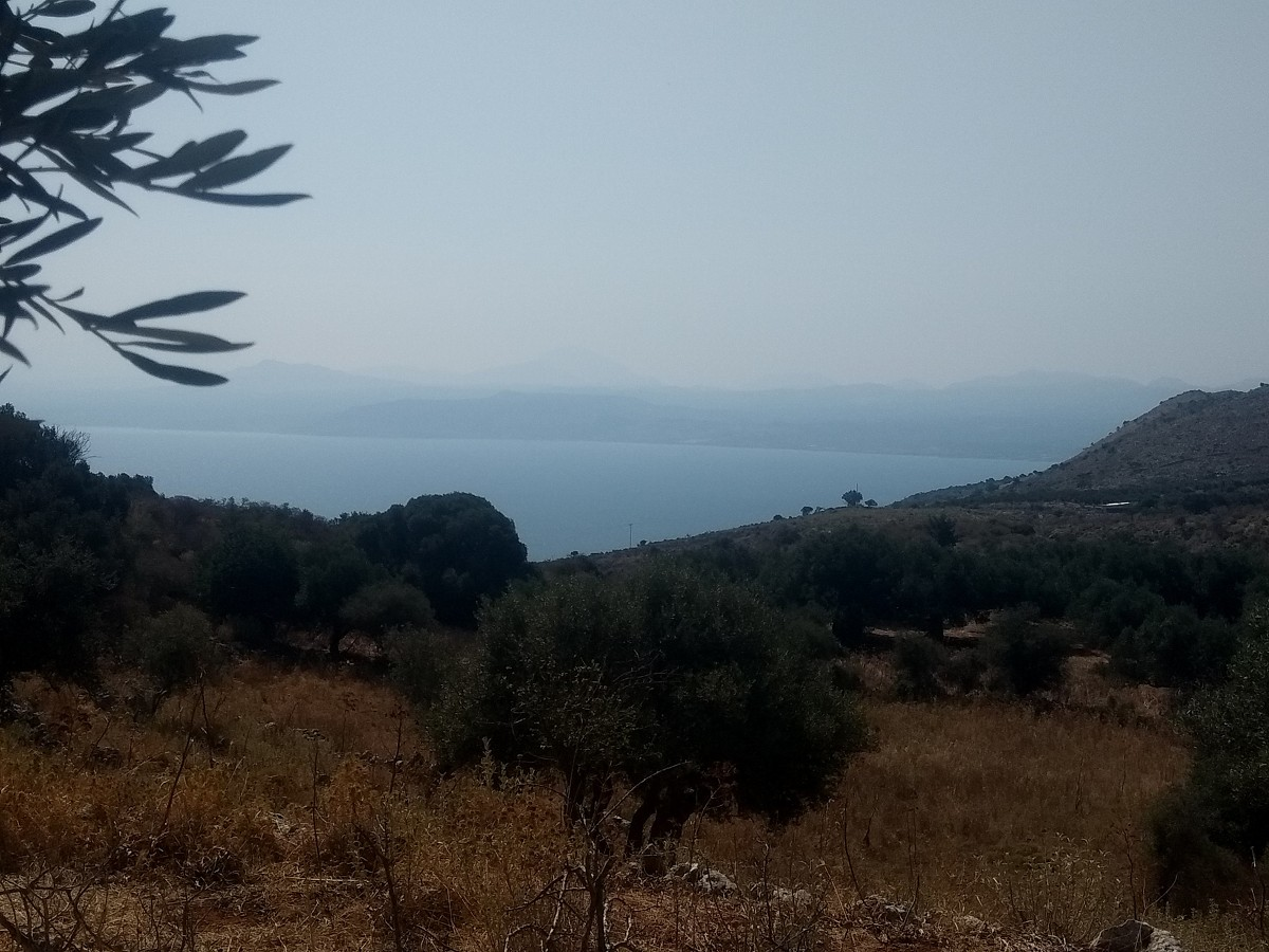 Land in Apokoronas Chania Crete for sale with sea views KL421