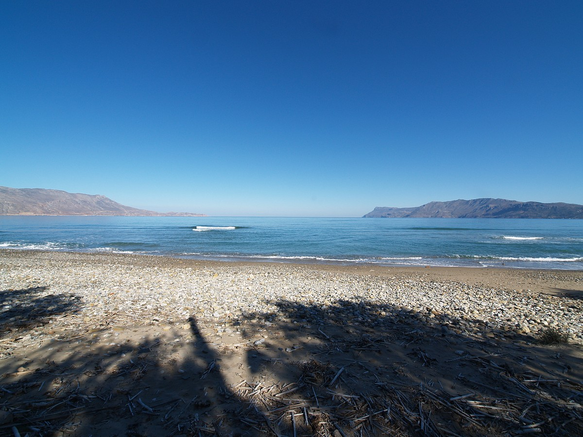 Seafront piece of land in Kastelli Chania Crete for sale cl075