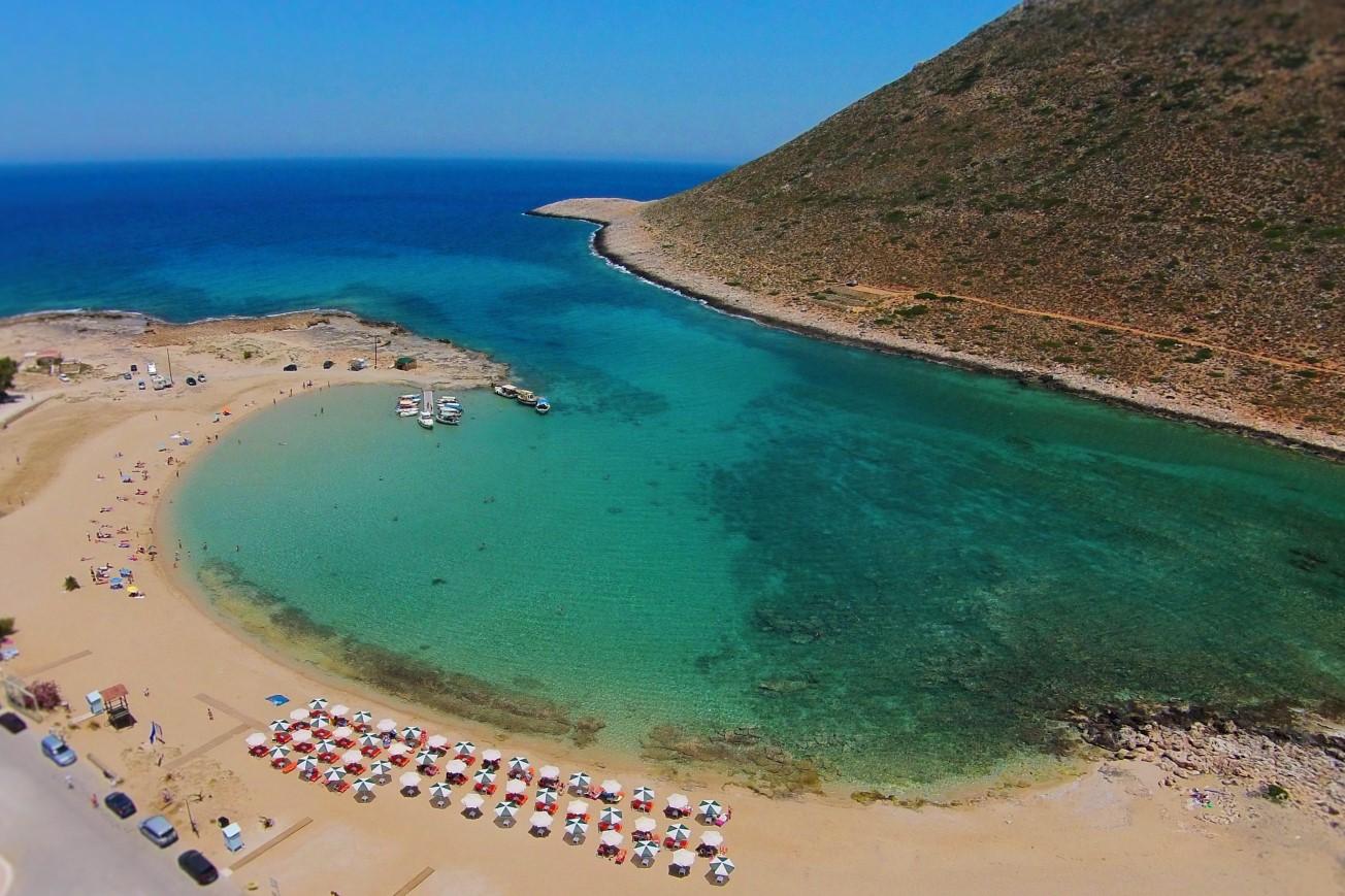 hotel for sale in crete akrotiri beach