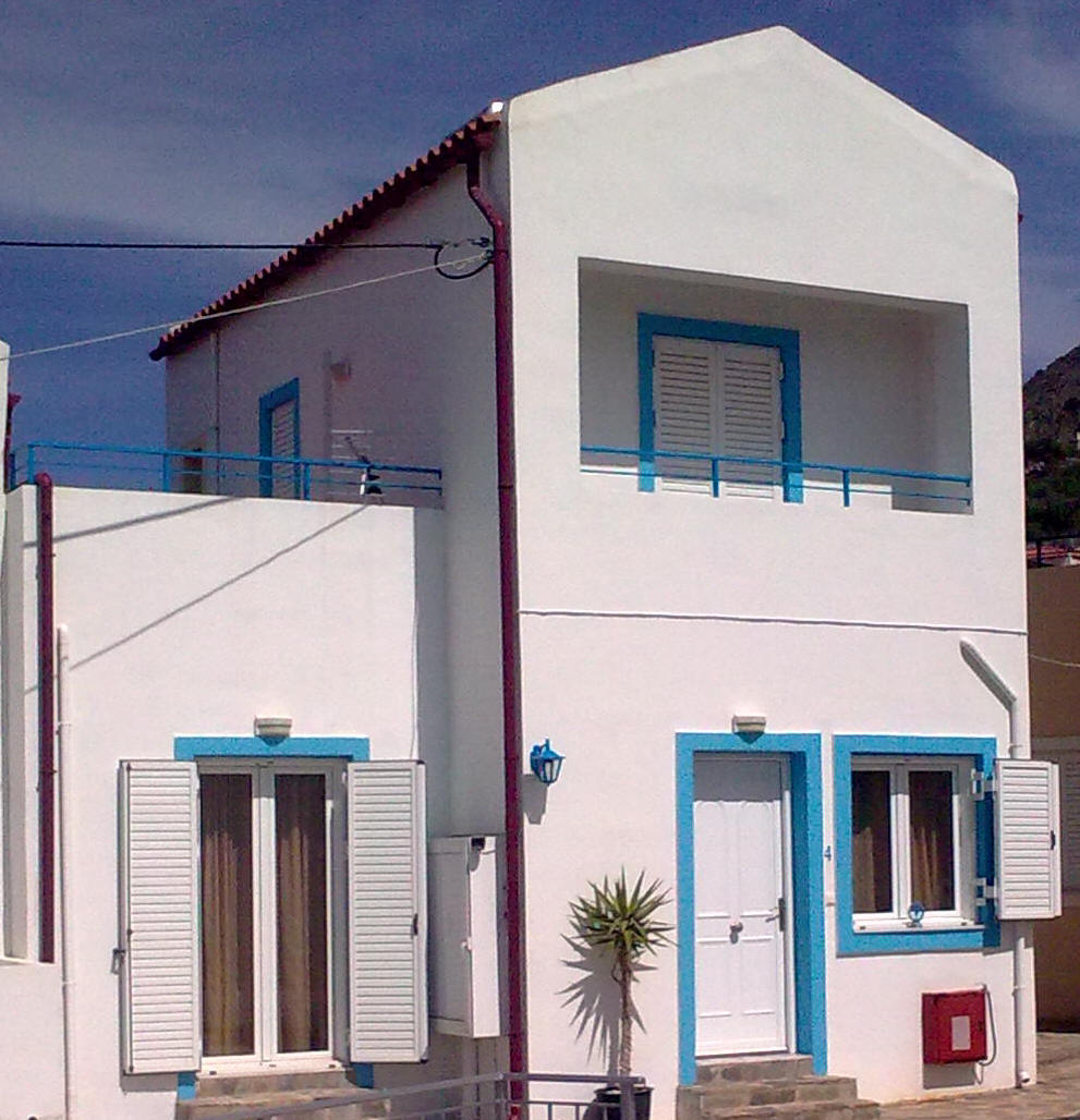 villas for sale in chania exterior