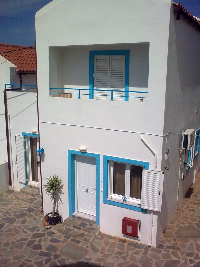 villas for sale in chania external view