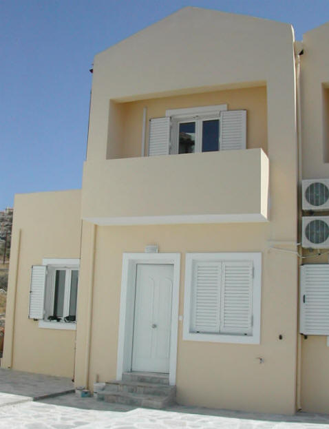 villas for sale in chania balcony