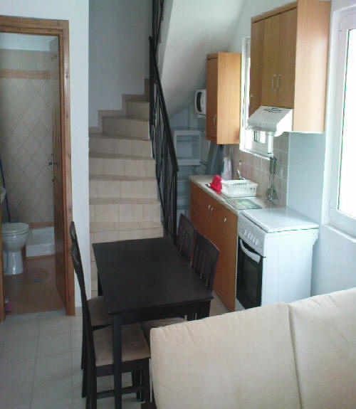 villas for sale in chania stairs